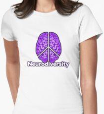 Peace of Mind - Neurodiversity Women's Fitted T-Shirt