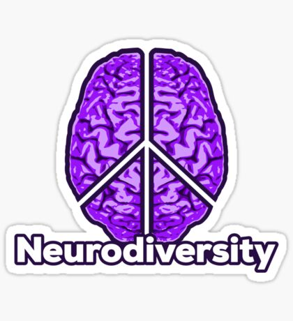 Peace of Mind - Neurodiversity Sticker