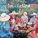 Tea In The Garden With Friends - Invitation Cards by Ballet Dance-Artist