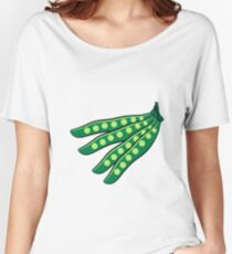 Vegetables beans organic garden Women's Relaxed Fit T-Shirt