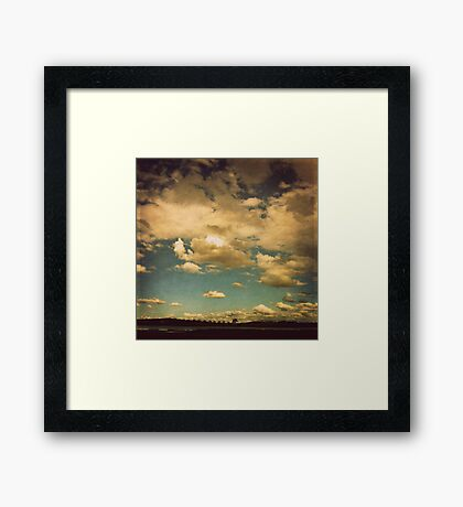 Ever-changing Framed Print
