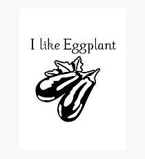 Vegetables Eggplant nature garden Photographic Print