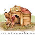 Sad Sausage Dog by sadsausagedogs