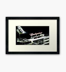Stadium - Advertising Framed Print