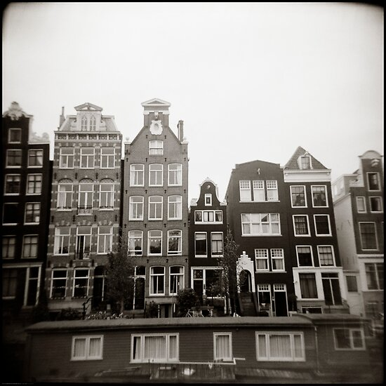 { skinny houses } by Lucia Fischer