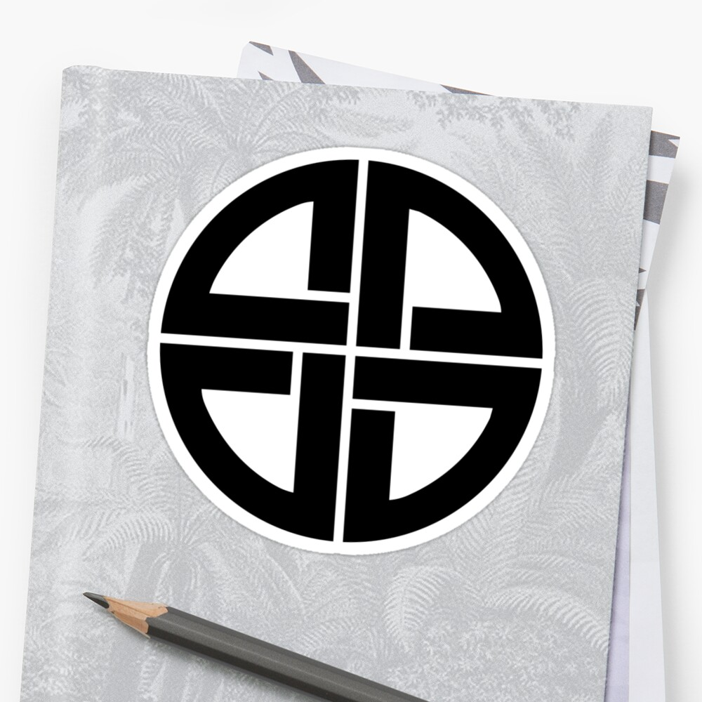 Celtic Shield Knot Amulet Germanic Protection Celtic Stickers