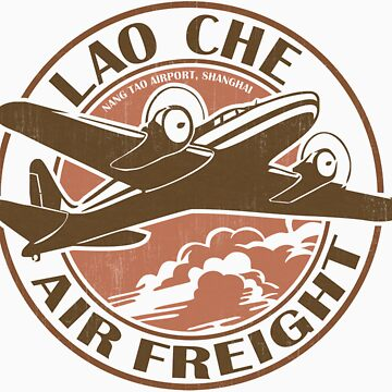 Lao Che Air Freight by 8balltshirts
