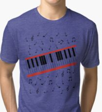Beat It Piano Tri-blend T-Shirt