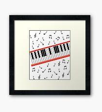 Beat It Piano Framed Print