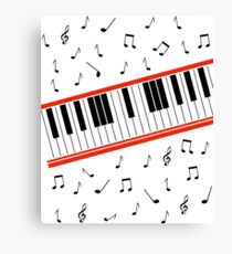 Beat It Piano Canvas Print