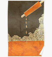 Orange Dreamscicle Poster