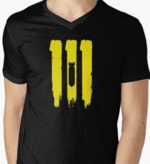 vault 111 Men's V-Neck T-Shirt