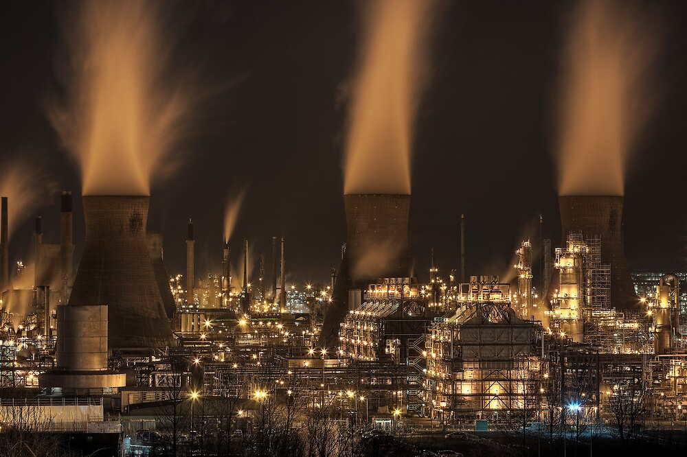 Grangemouth Refinery (5) by Karl Williams