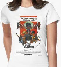 BLACK GESTAPO Women's Fitted T-Shirt