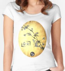 Japanese Blossom Women's Fitted Scoop T-Shirt