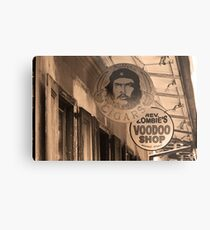 New Orleans Shops Metal Print