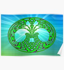 The Rising -  Celtic Tree of Life No19 Poster