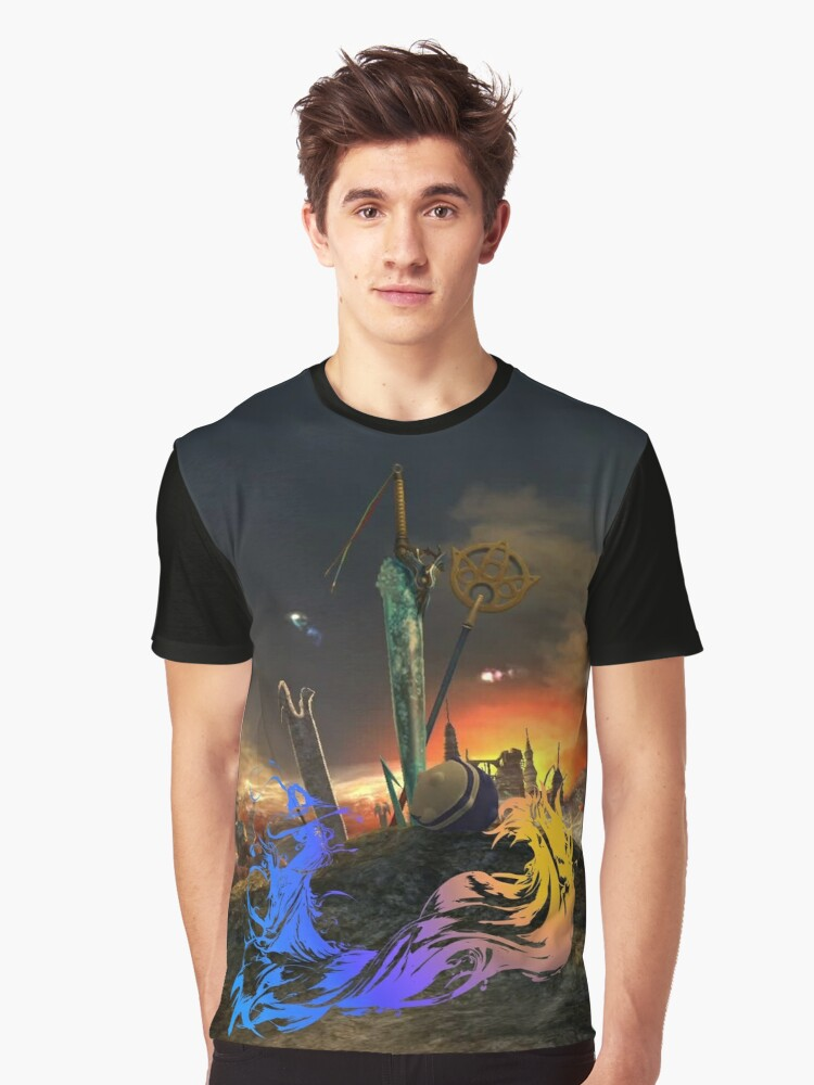 FINAL FANTASY T SHIRT · FINAL FANTASY X ~ this is my story Graphic T-Shirt Front