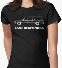 Last Responder Women's Fitted T-Shirt
