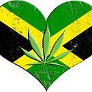 jamaica ganja by fuxart
