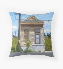 Shotgun House Throw Pillow