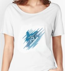 Jumping snowboarder Women's Relaxed Fit T-Shirt