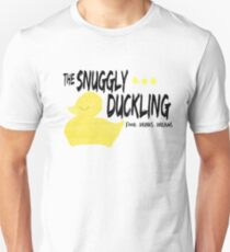 The Snuggly Duckling - BLACK T-Shirt