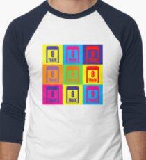 8 Track Pop Art T-Shirt Men's Baseball ¾ T-Shirt