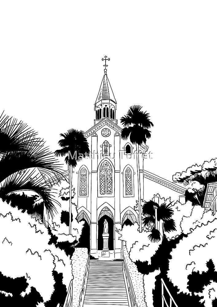 Nagasaki - Oura Church by parisiansamurai