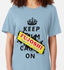 Keep calm Fujoshi! Slim Fit T-Shirt