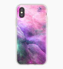 Orion Nebula [Pink Clouds] | Galaxy Mathematix iPhone Case