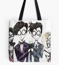 Tim Burton's Doctor Who Tote Bag