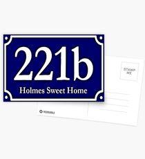 221b - Holmes Sweet Home Postcards