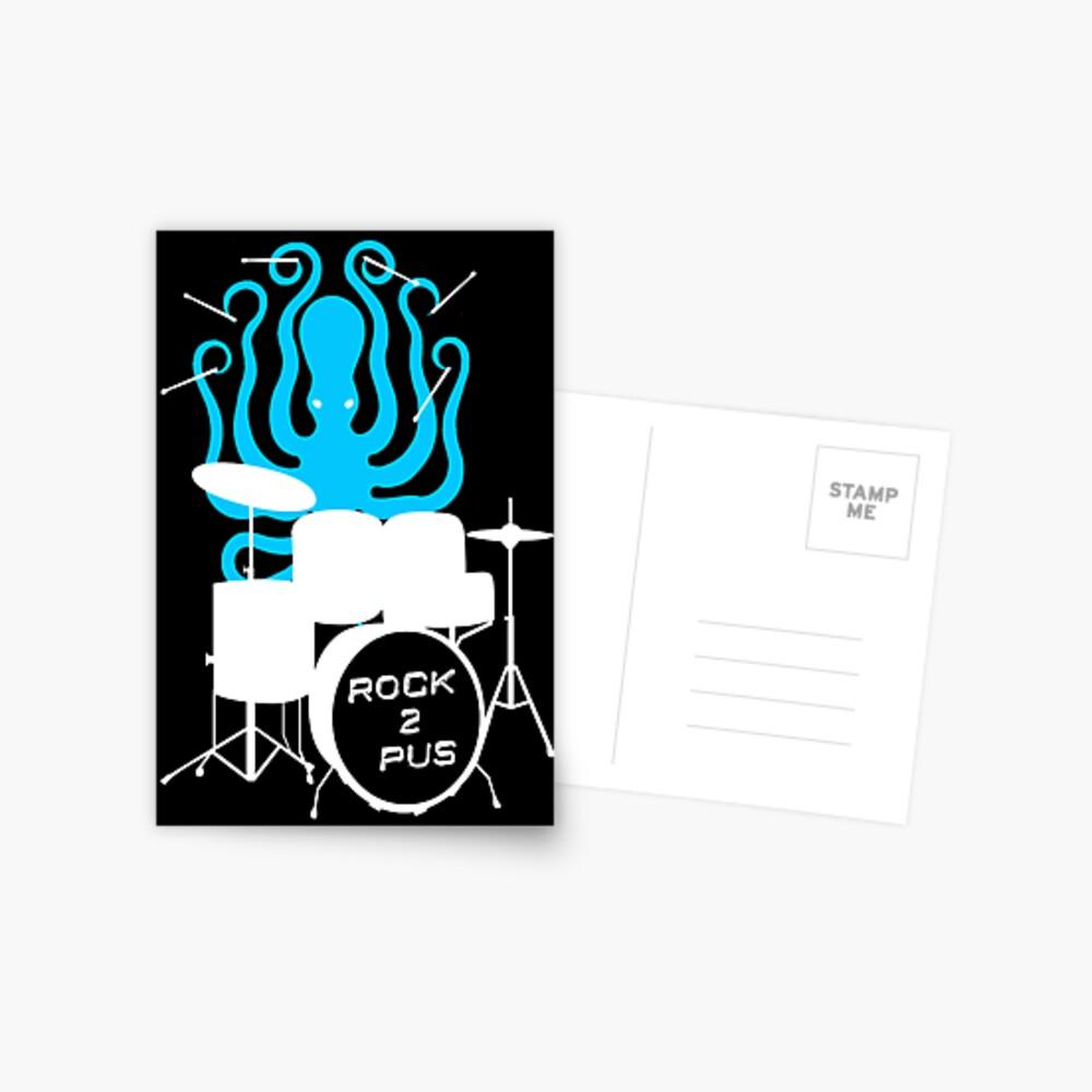 Octopus Rock! Postcard