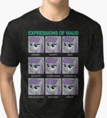 Expressions of Maud Tshirt Tri-blend T-Shirt
