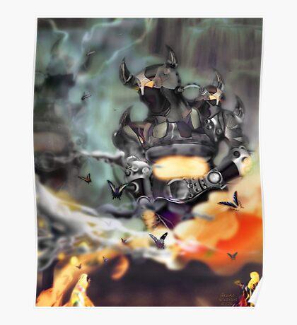 King Robots Poster