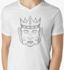 Wise Tricephalic Mens V-Neck T-Shirt