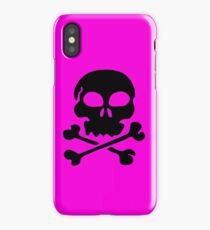 SKULL AND CROSSBONES by Zombie Ghetto iPhone Case/Skin