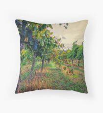 Vineyard Colours Throw Pillow