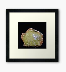 Botryoidal Agate in Green Framed Print