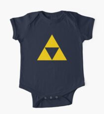 Triforce - Ancient Magical Symbol, Sierpinski Triangle One Piece - Short Sleeve