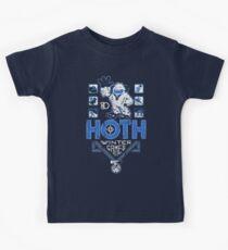Hoth Winter Games Kids Tee