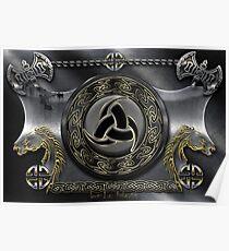 Viking Shield  Poster