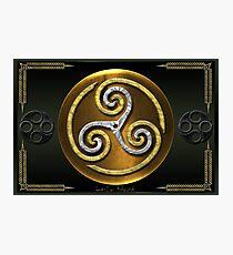 Celtic Triskellion Photographic Print