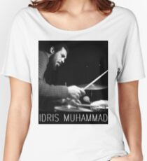 IDRIS MUHAMMAD Women's Relaxed Fit T-Shirt