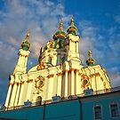St Andrew's Church, Kiev by Maryna Gumenyuk
