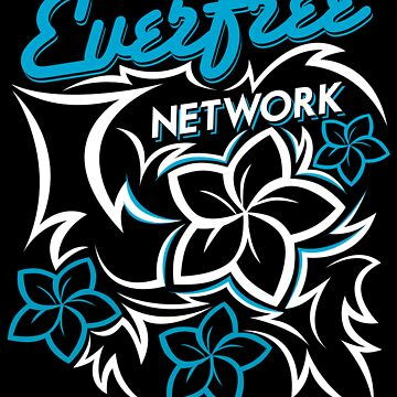 EFN Tribal Design (Black Background) by EverfreeNetwork