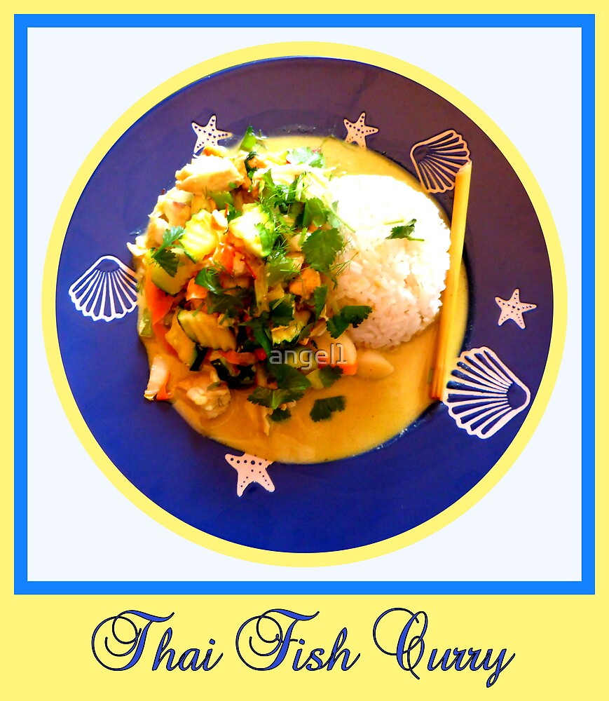 Thai Fish Curry by ©The Creative  Minds
