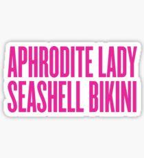Aphrodite Lady Sticker