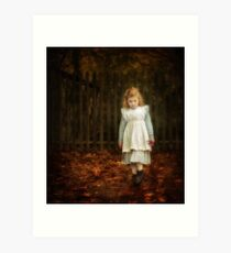 Lonley Child Art Print